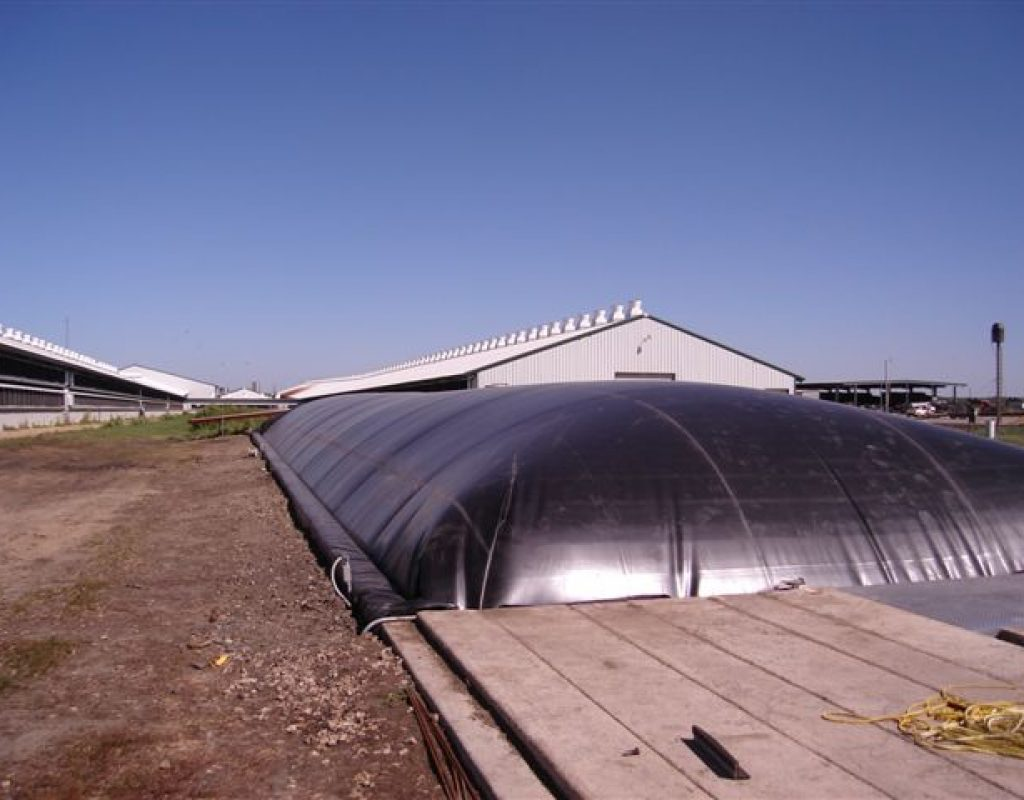 Custom Digester Cover
