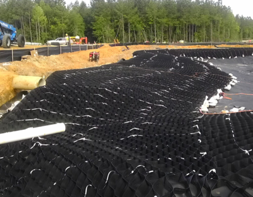 berm reinforcement